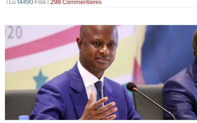 Sur les manifestations aujourd'hui à Dakar, le ministre de l'intérieur Antoine Diome declare: «Force restera à la loi»